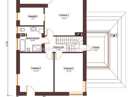 Ілєнайзер план другого поверху